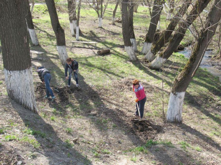 Экологический субботник в Ягодно-Полянском  МО
