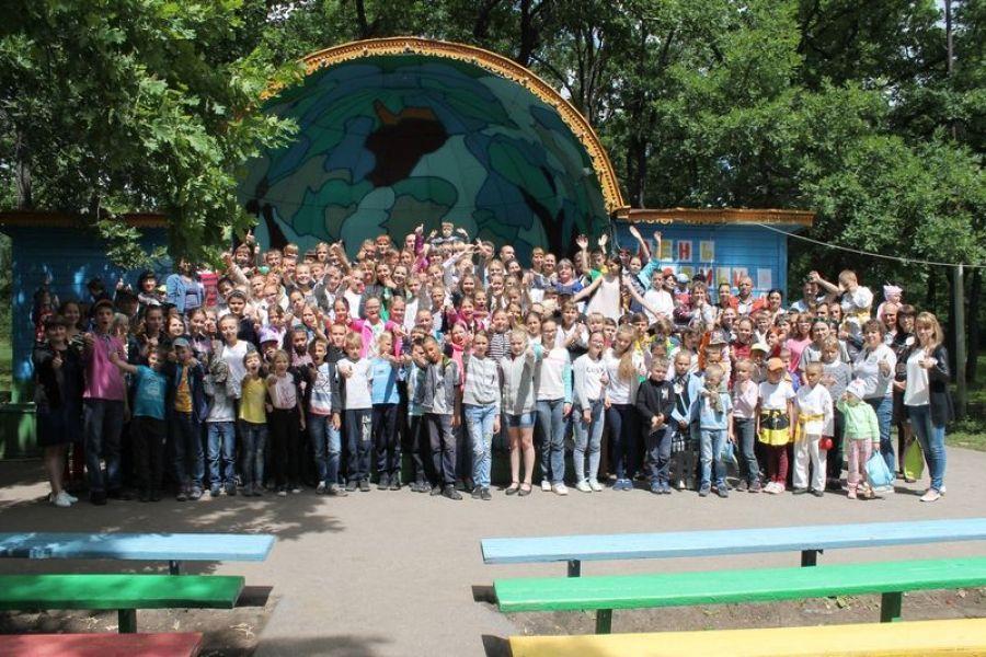 Родительский день в детском лагере «Дубрава»