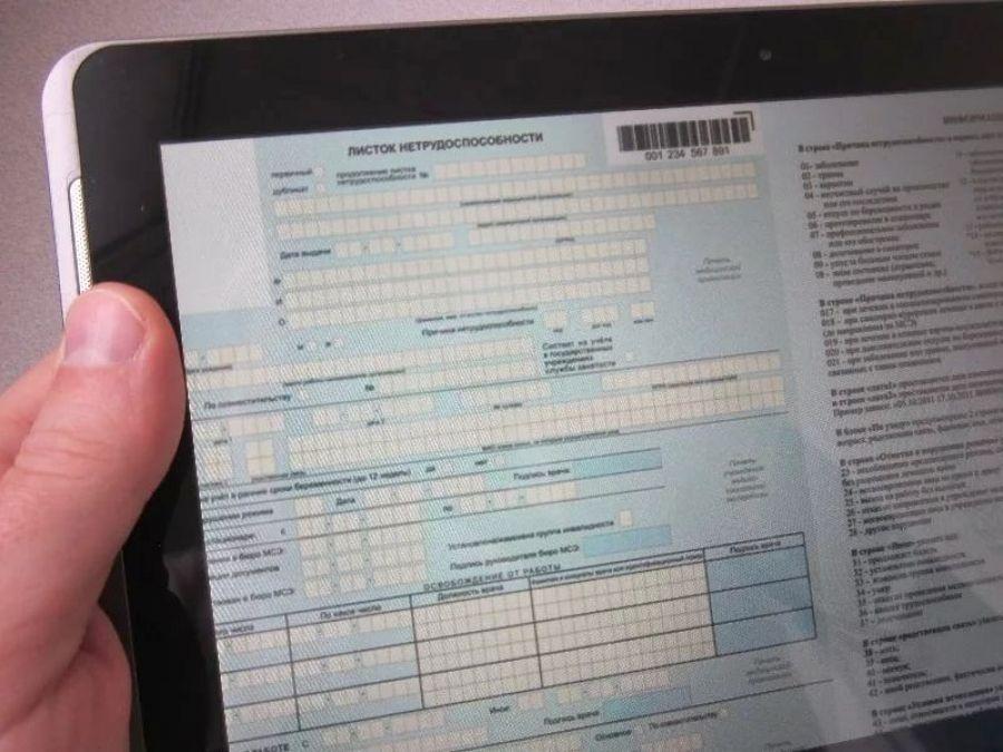 За месяц в Саратовской области  выдано более 60 «электронных» больничных