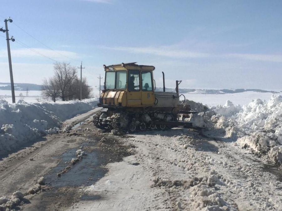 В Сторожевском МО проводились работы по очистке дорог