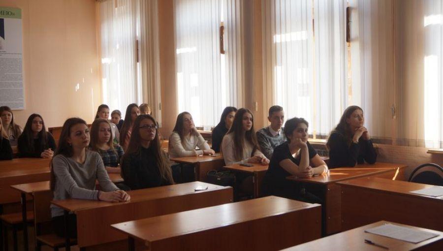 Лицеисты в Поволжском юридическом институте