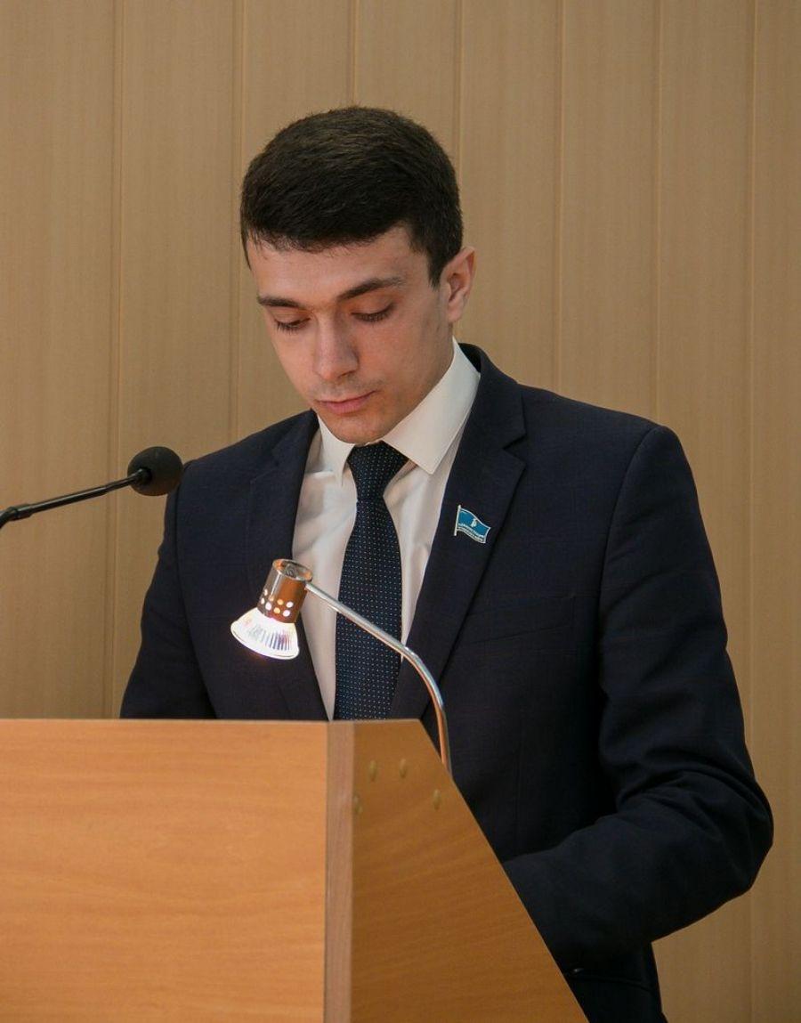 Доклад исполняющего обязанности заместителя главы администрации Татищевского муниципального района Е.А. Киселева на собрании актива