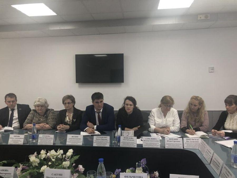 Заседание комиссии по увеличении доходов в бюджет Татищевского района