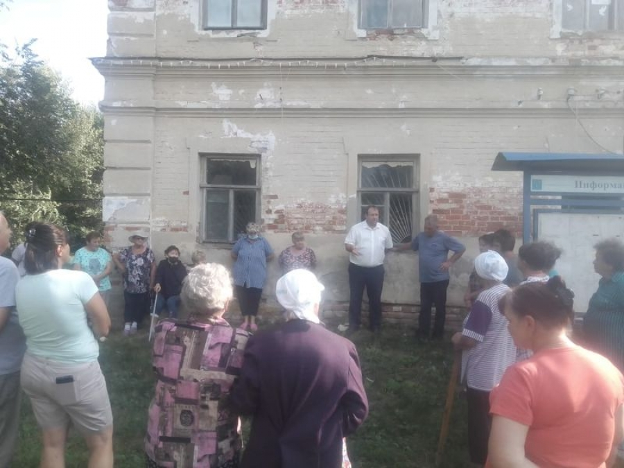 Встреча с жителями в п.Тимирязевский