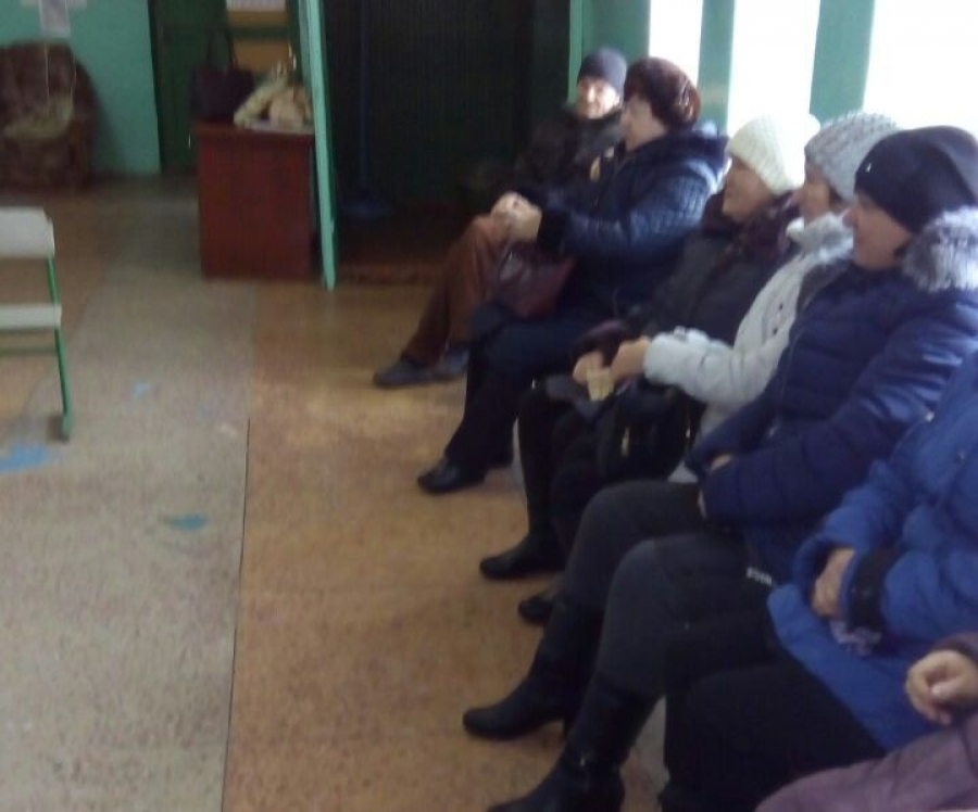 Собрание жителей села Куликовка