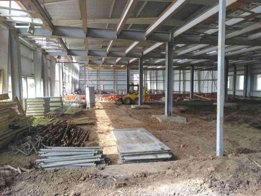Строительство ФОКа в Татищево выходит на завершающий этап