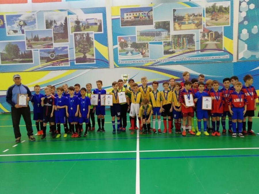 Открытый турнир Детско-юношеской спортивной школы по мини-футболу
