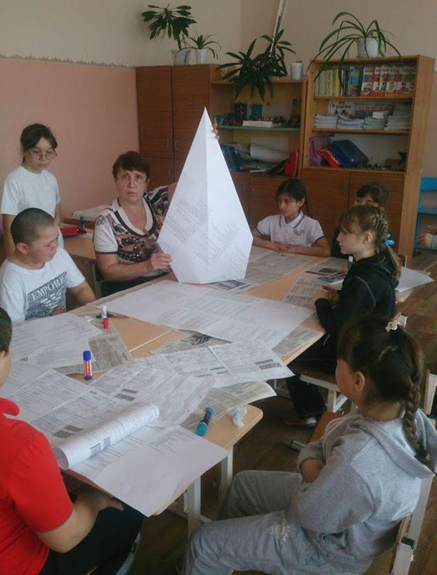 «Родничок» в школе села Мизино-Лапшиновка