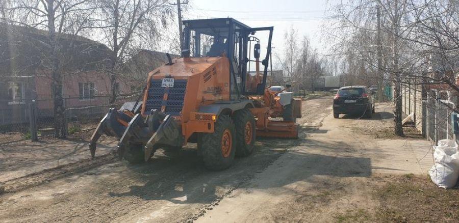 Грейдерование дорог в р.п.Татищево