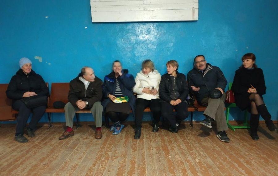 Встреча с жителями села Слепцовка