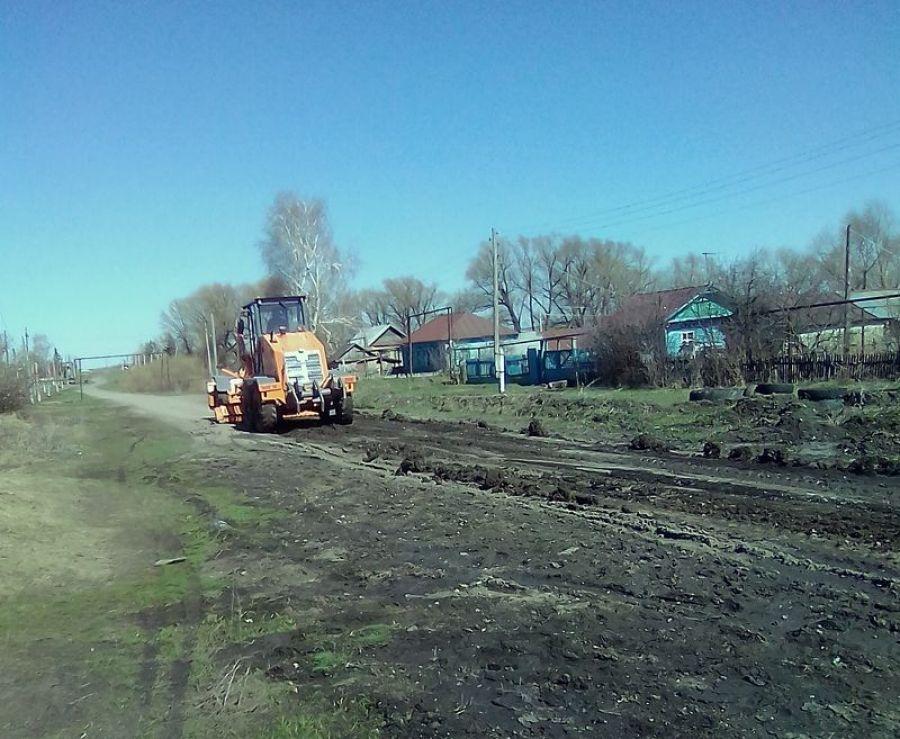 Ремонт дорог в Идолгском муниципальном образовании