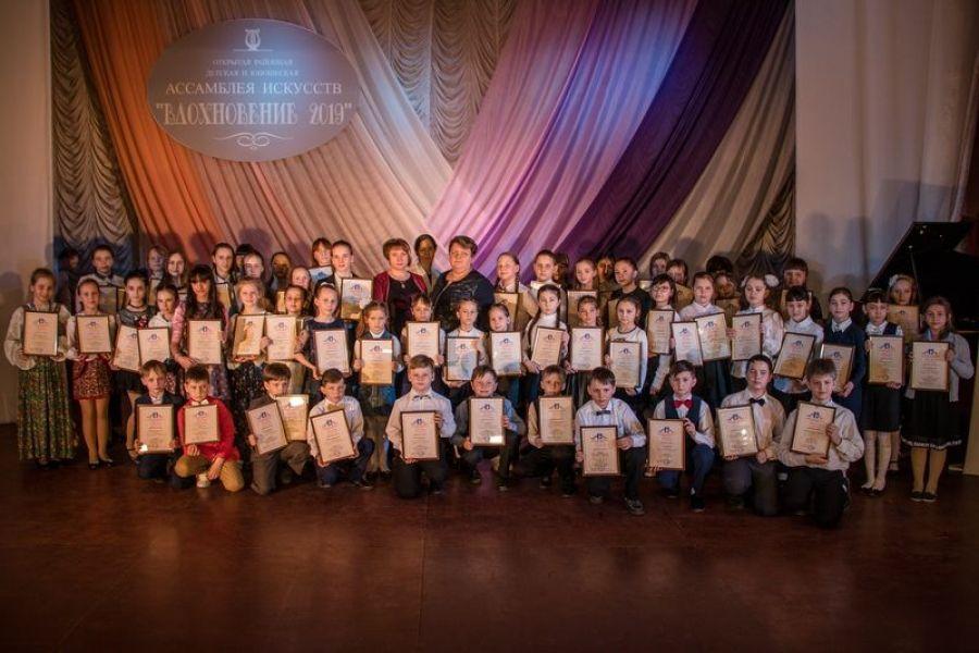 Гала-концерт открытой районной ассамблеи искусств «Вдохновение-2019»