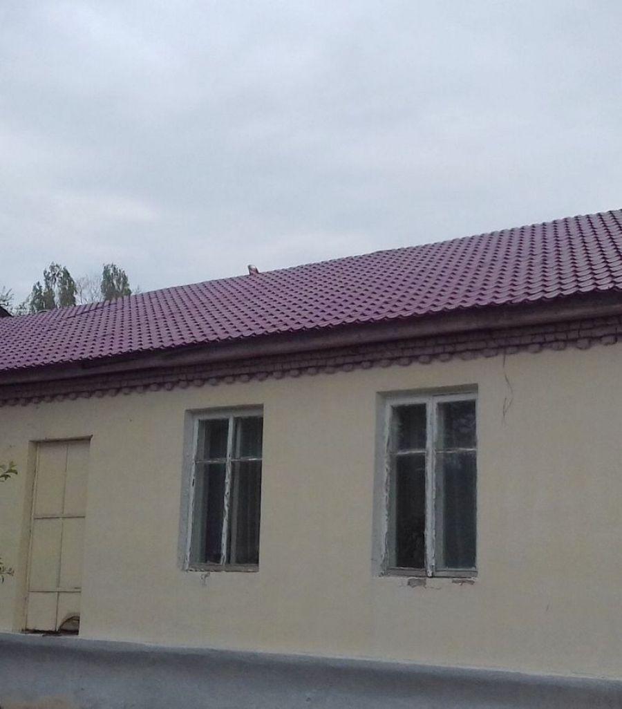 В Сторожевском сельском клубе завершился ремонт скатной кровли