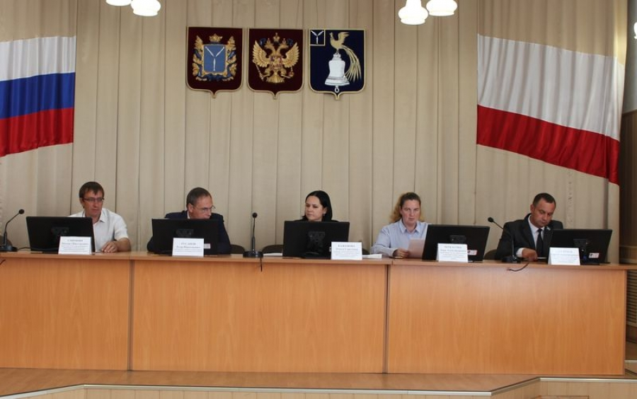 Заседание административной комиссии Татищевского муниципального района