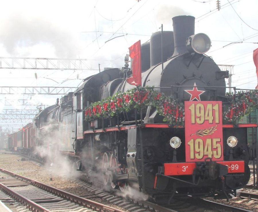 Ретро-поезд «Победа» впервые прибывает в Саратовский регион Приволжской магистрали
