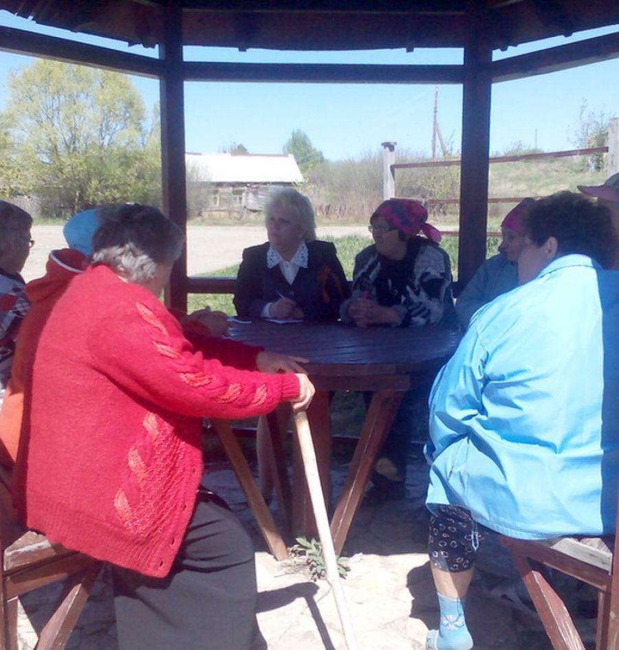 Встреча с жителями села Кологривовка
