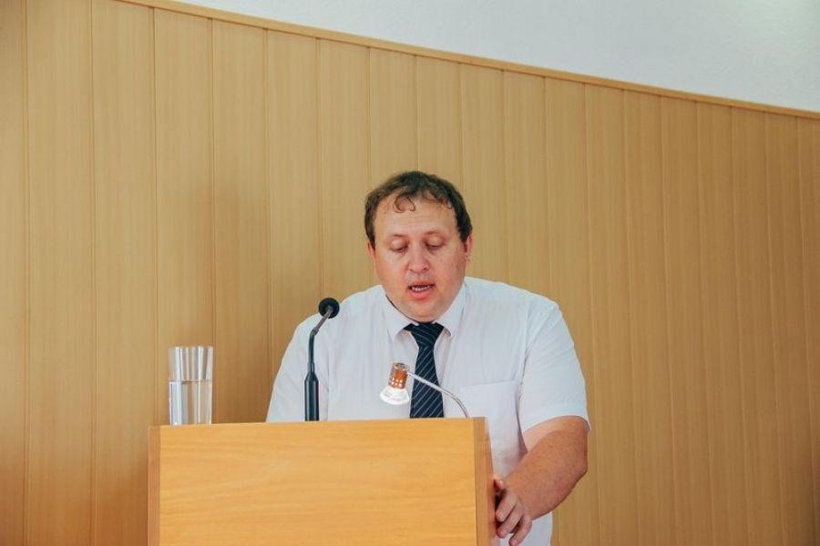 Доклад заместителя главы администрации Татищевского муниципального района А.А. Родионова на собрании актива