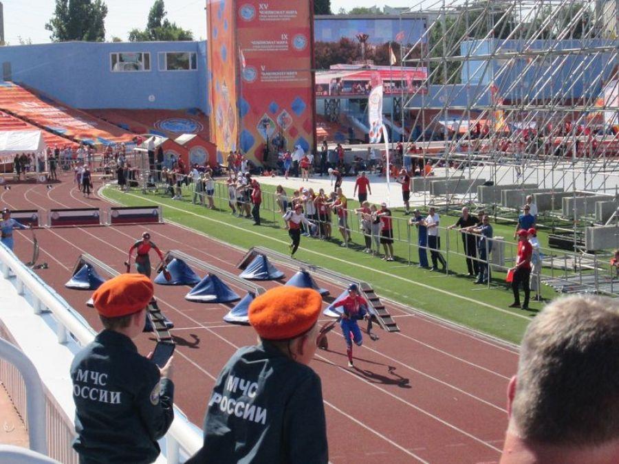 Вязовские кадеты на Чемпионат мира по пожарно-спасательному спорту