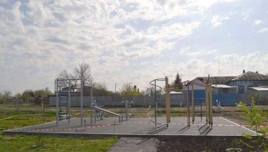 Детские площадки в Идолгском МО