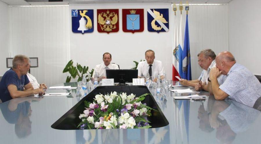 Заседание Совета депутатов Татищевского муниципального образования
