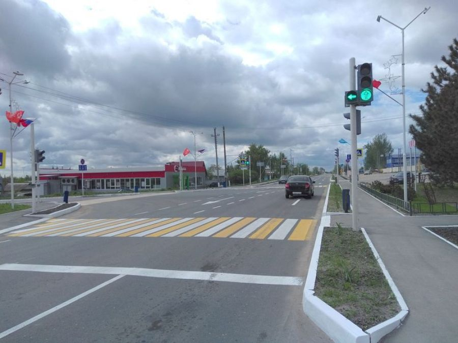 Дорожная разметка в Татищево